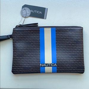 NWT!  NAUTICA wristlet w/ RFID protection